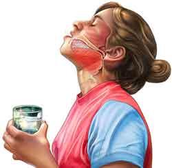Сок свеклы для полоскания горла